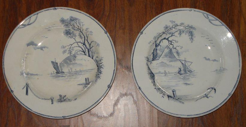 Парные тарелки «Marine»