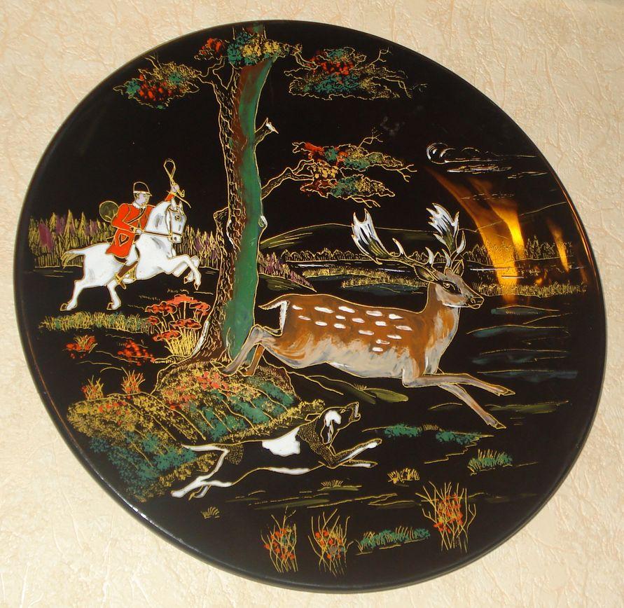 Тарелка декоративная «Егерь» из серии «Охота»