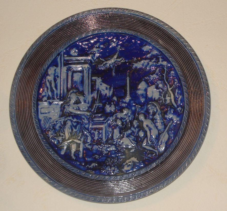 Пара декоративных тарелок «Римская империя»