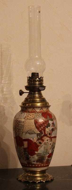 Лампа масляная в японском стиле