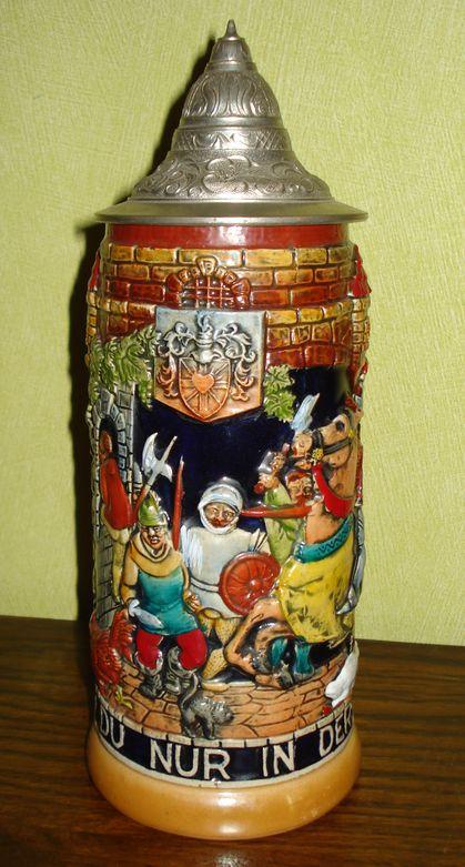 Кружка пивная «Вызов на дуэль»
