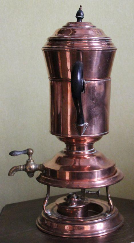 Кофейник-шоколадница на подставке-подогреве