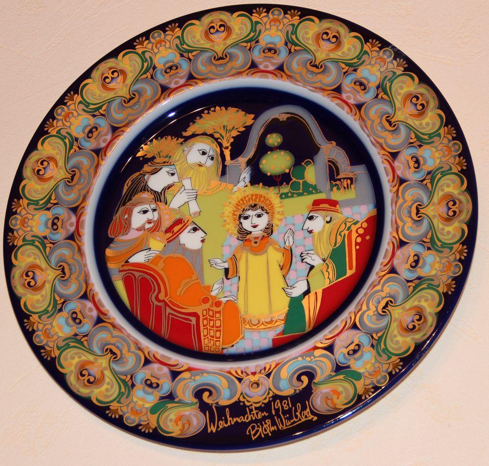Тарелки декоратвные «Рождество»