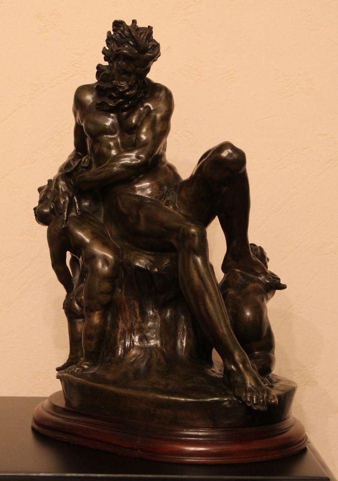 Скульптурная композиция «Бог ветров»