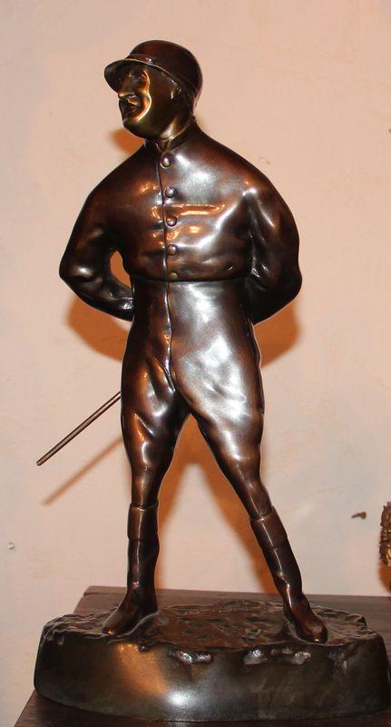 Скульптурная композиция «Жокей»
