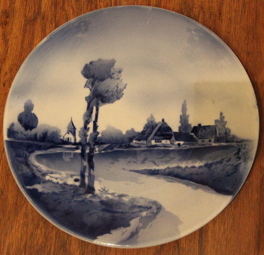 Тарелка декоративная «Ветер»