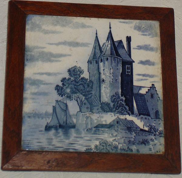 Картинка на плитке
