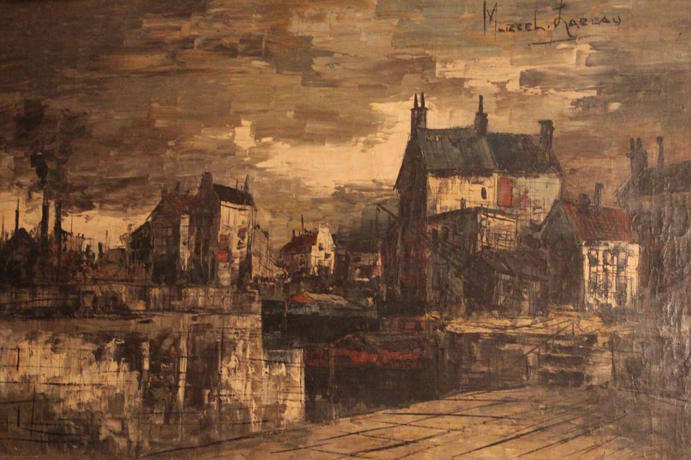 Городской пейзаж. Парижский вид.