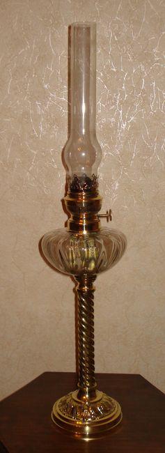 Лампа маслянная настольная
